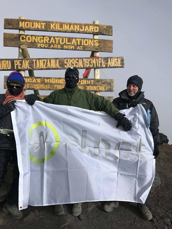 Nelnet Associates Ascend Mount Kilimanjaro