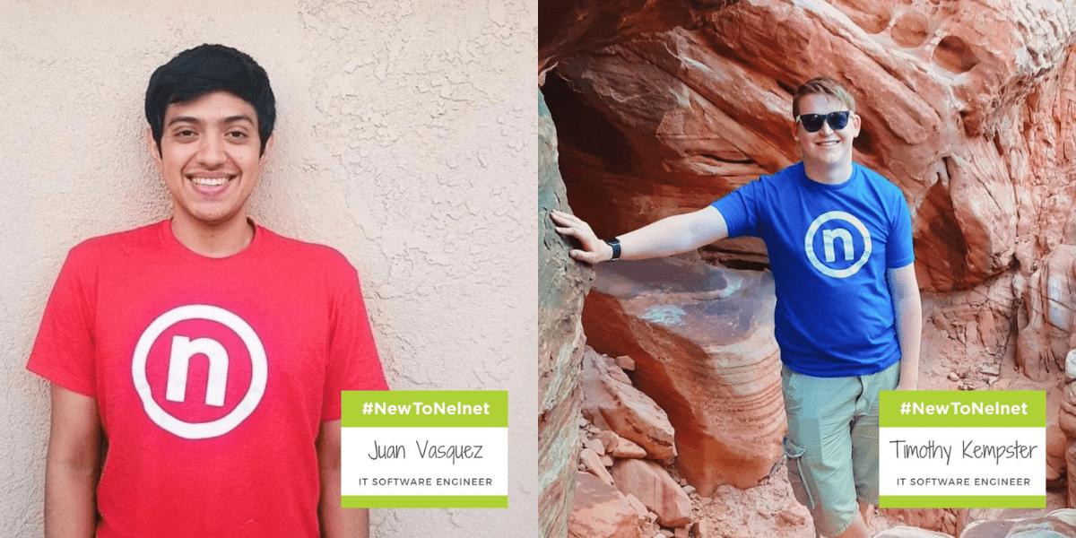 New to Nelnet November 2020 - Former interns and new Nelnet associates Juan and Tim